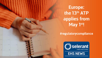 Europe: The 13th ATP applies from May 1st!
