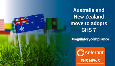 Australia and New Zealand move to adopts GHS 7