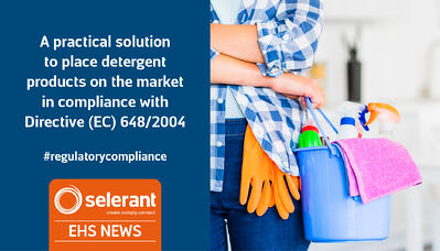 A practical solution to place detergent products on the market in compliance with Directive (EC) 648/2004