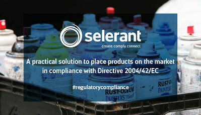 A practical solution to place products on the market in compliance with Directive 2004/42/EC