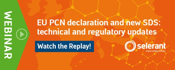 Watch the Replay - EU PCN declaration and new SDS: technical and regulatory updates