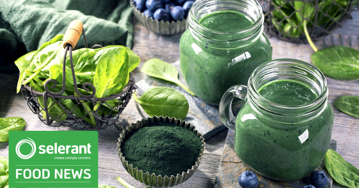 Selerant_Canada Proposes Approve Spirulina Extract Food Colour-January 2020