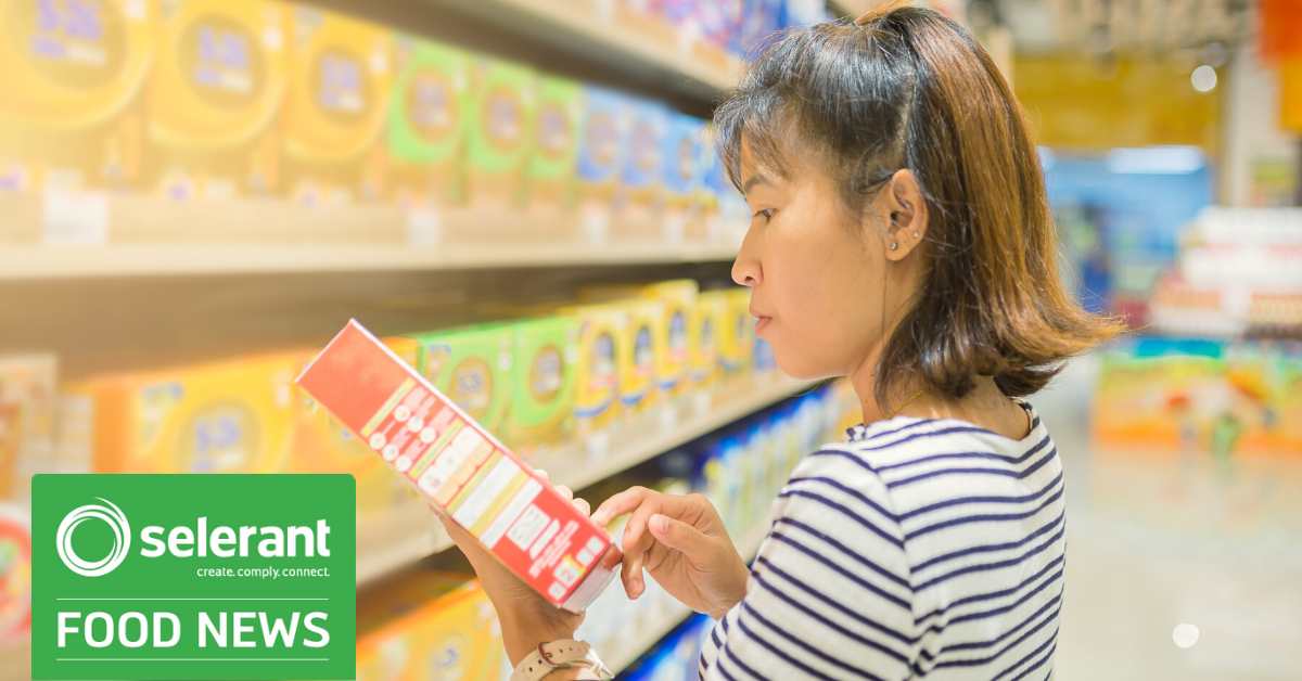 Selerant_Singapore Updates the Guide to Food Labelling and Advertisements-January 2020