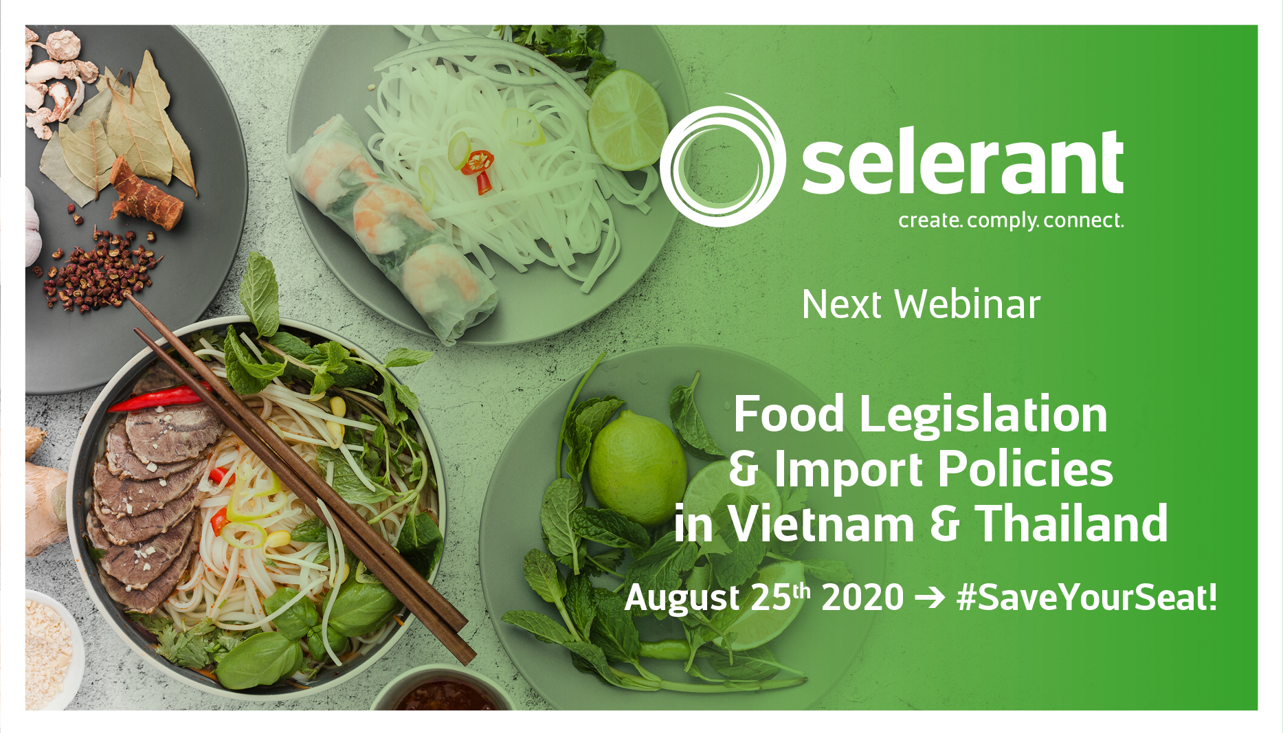 Webinar: Food Legislation & Import Policies in Vietnam & Thailand - Subscribe