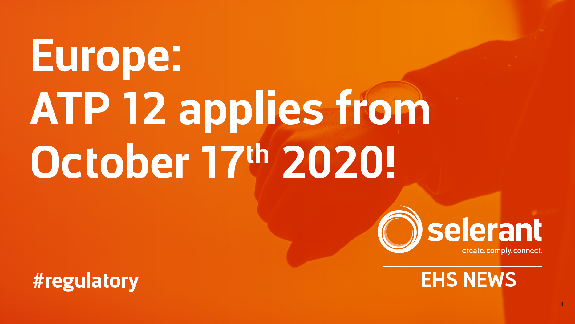 Europe: ATP 12 applies from October 17th 2020!