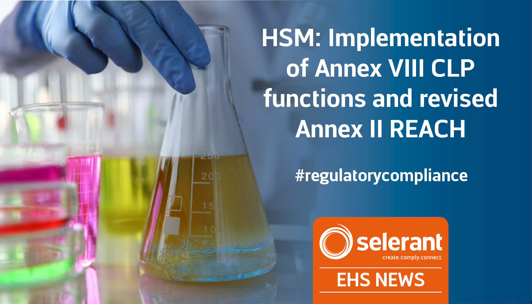 HSM: Implementation of Annex VIII CLP functions and revised Annex II REACH