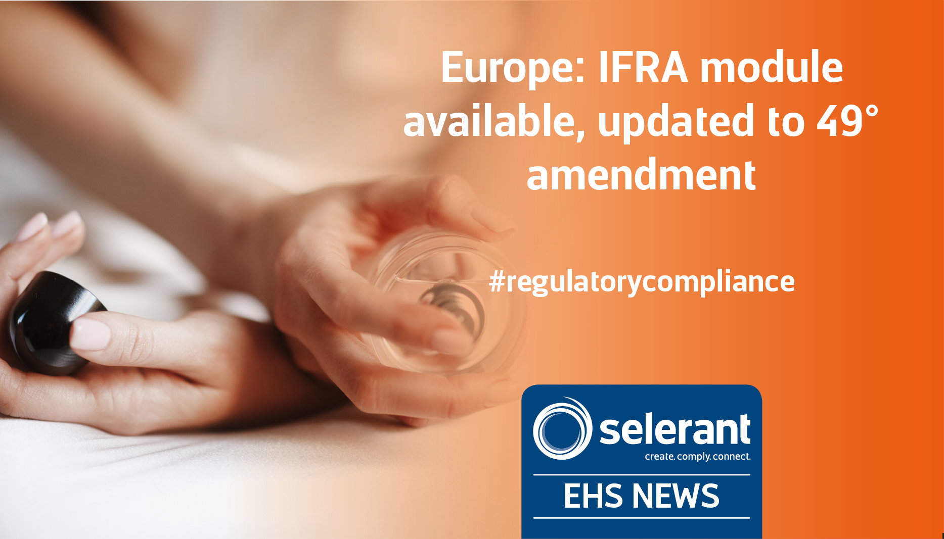 Europe: IFRA module available, updated to 49° amendment