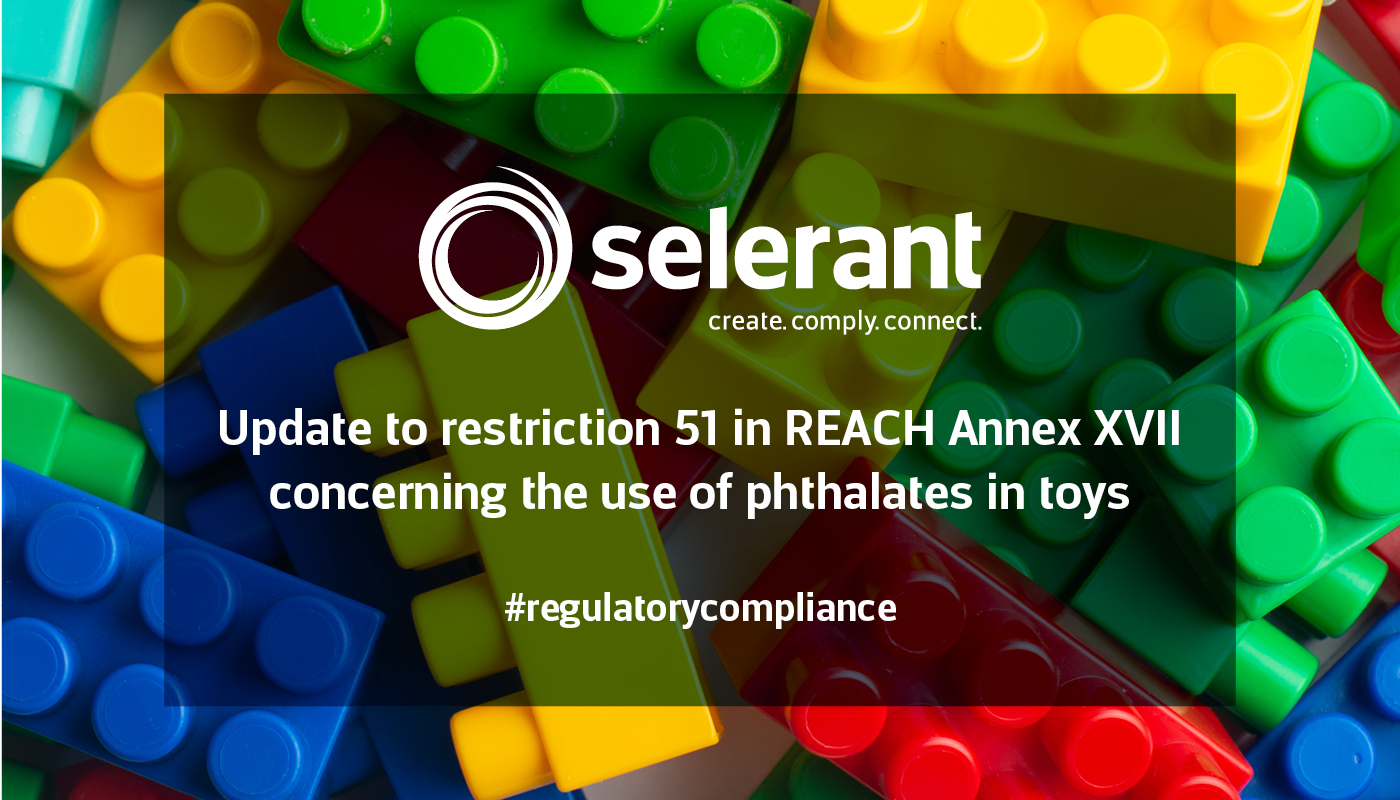 Update to restriction 51 in REACH Annex XVII concerning the use of phthalates in toys
