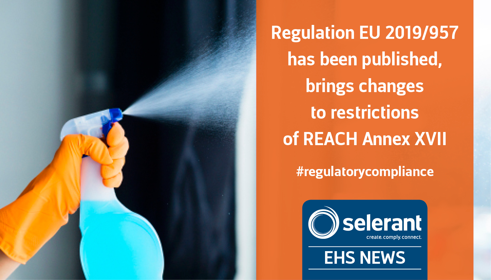 Regulation EU 2019/957 has been published, brings changes to restrictions of REACH Annex XVII