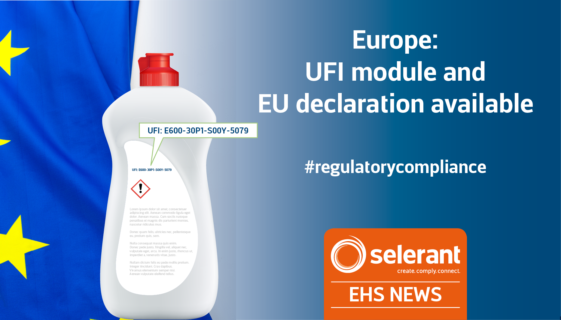 Europe: UFI module and EU declaration available