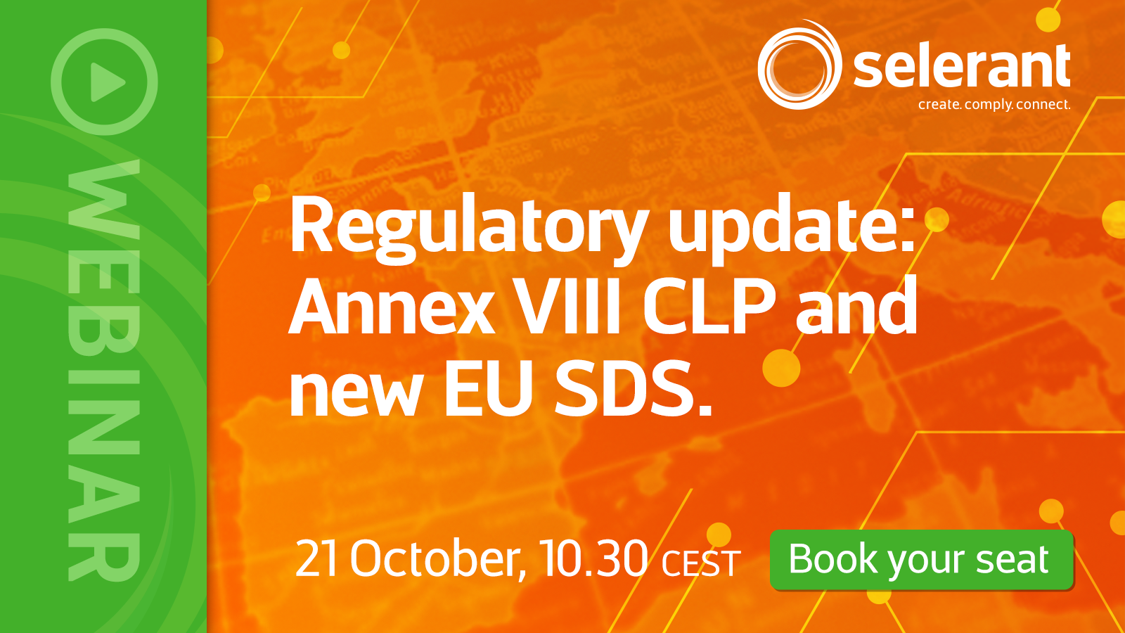Register: Regulatory news: Annex VIII CLP and new EU SDS